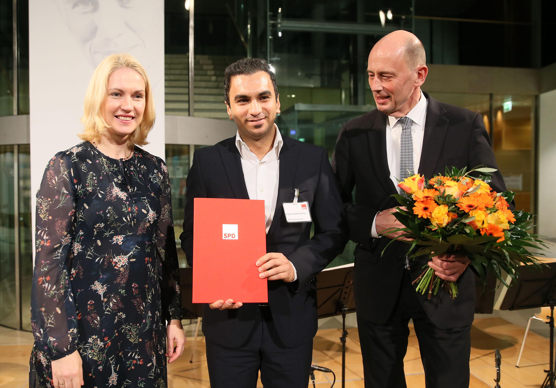 Brühl Kahramanlar Eğitim ve Spor Derneği Regine Hildebrand Ödülünü kazandı