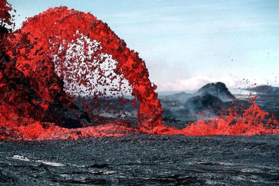 Hawai'de bulunan Kilauea Yanardağı