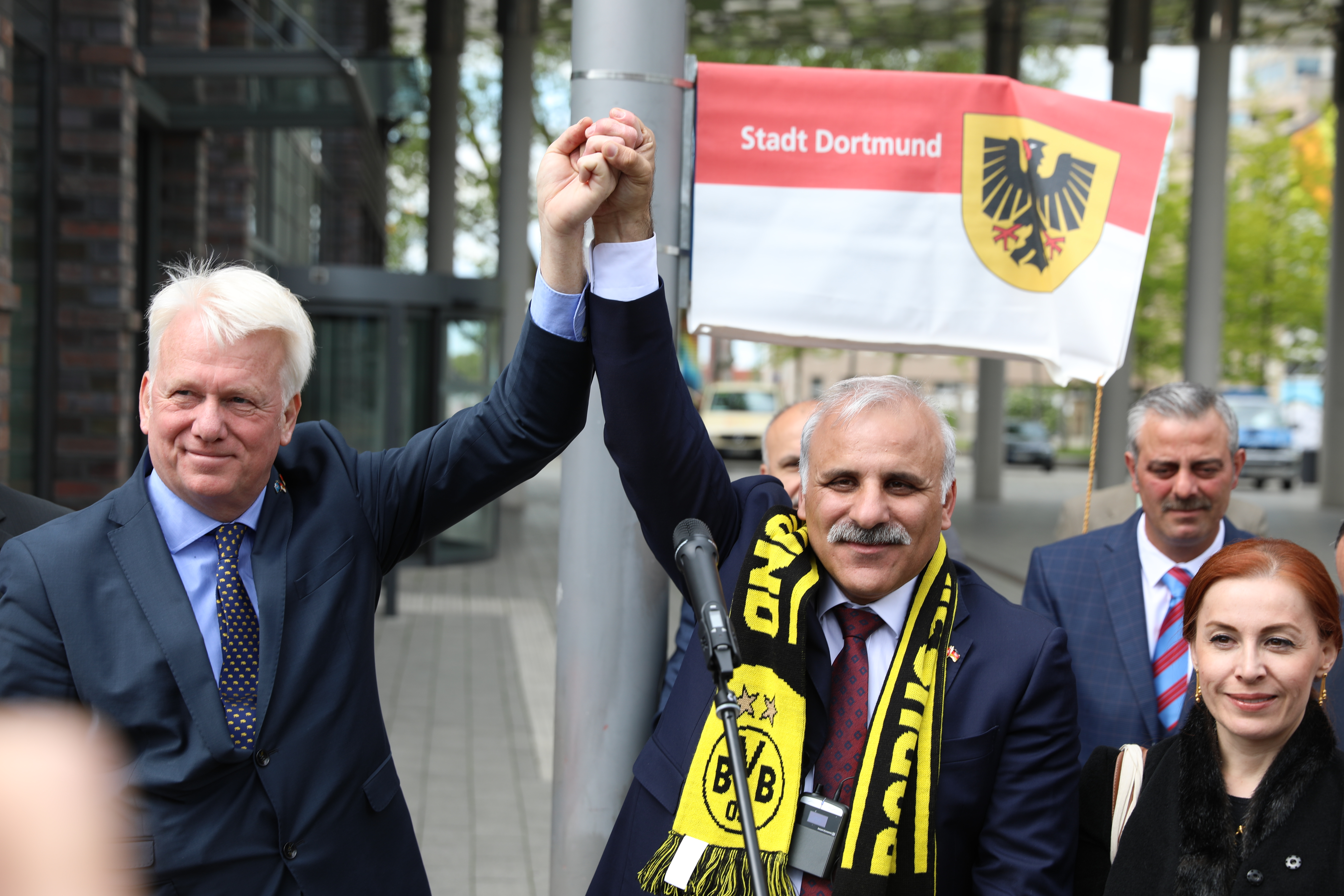 Dortmund'da Trabzon Meydanı