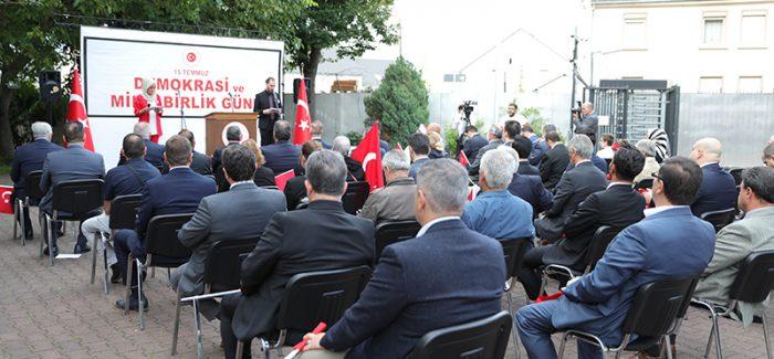 Almanya'nın Köln kentinde 15 Temmuz anma etkinliği düzenlendi
